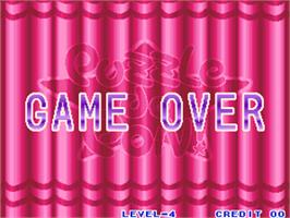 Game Over Screen for Puzzle De Pon!.