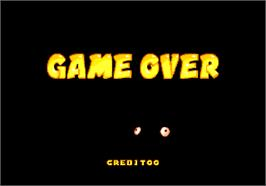 Game Over Screen for Puzzli.