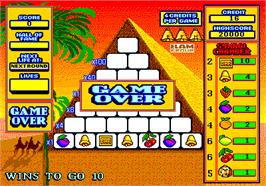 Game Over Screen for Pyramid.