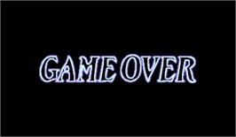 Game Over Screen for Quiz Nanairo Dreams: Nijiirochou no Kiseki.