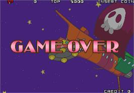 Game Over Screen for Quiz Theater - 3tsu no Monogatari.