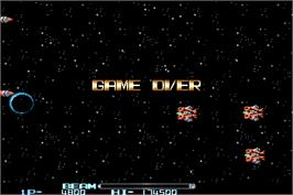 Game Over Screen for R-Type II.