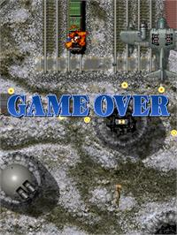 Game Over Screen for Raiden Fighters 2.1.