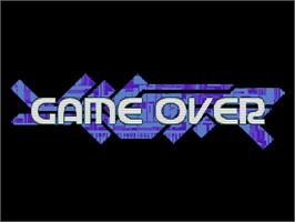 Game Over Screen for Ray Crisis.