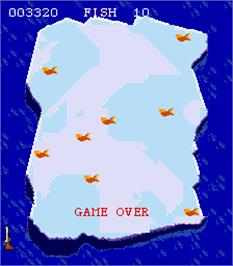 Game Over Screen for Razzmatazz.