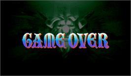 Game Over Screen for Red Earth.