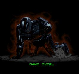 Game Over Screen for Robocop 3.