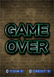 Game Over Screen for Rock'n 3.