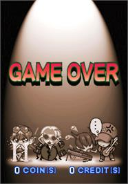 Game Over Screen for Rock'n Tread 2.