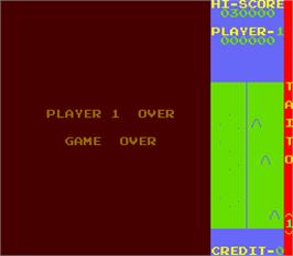 Game Over Screen for Rock Climber.