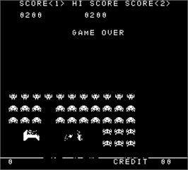 Game Over Screen for Rotary Fighter.