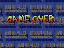 Game Over Screen for SD Fighters.