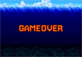 Game Over Screen for SD Gundam Psycho Salamander no Kyoui.