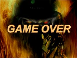 Game Over Screen for SWAT Police.