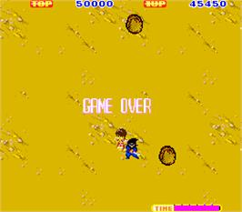 Game Over Screen for Sega Ninja.