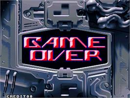 Game Over Screen for Sen-Know.