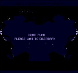 Game Over Screen for Shrike Avenger.