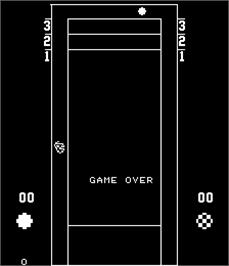 Game Over Screen for Shuffleboard.