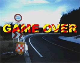 Game Over Screen for Side By Side.