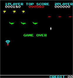 Game Over Screen for Sky Chuter.