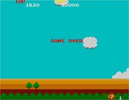 Game Over Screen for Sky Kid.