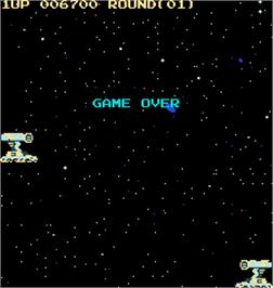 Game Over Screen for Sky Lancer.