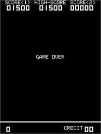 Game Over Screen for Sky Love.