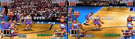 Game Over Screen for Slam Dunk 2.