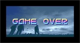 Game Over Screen for Slip Stream.