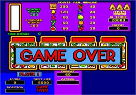 Game Over Screen for Slots.