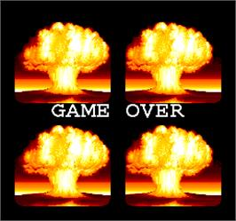 Game Over Screen for Sly Spy.