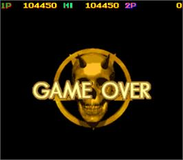 Game Over Screen for Snow Brothers 3 - Magical Adventure.