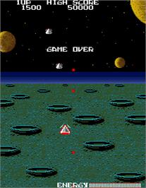Game Over Screen for Son of Phoenix.