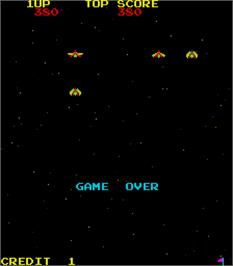 Game Over Screen for Space Empire.