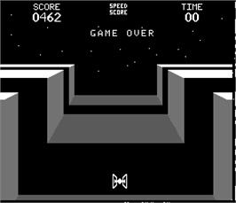 Game Over Screen for Space Encounters.