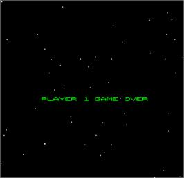 Game Over Screen for Space Fortress.