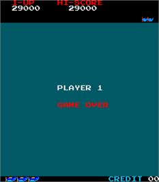Game Over Screen for Space Pilot.