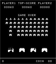 Game Over Screen for Space Stranger.