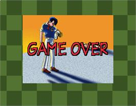 Game Over Screen for Speed Racer.