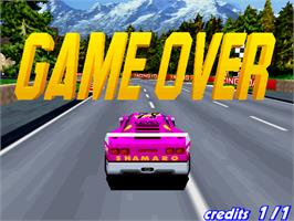 Game Over Screen for Speed Up.