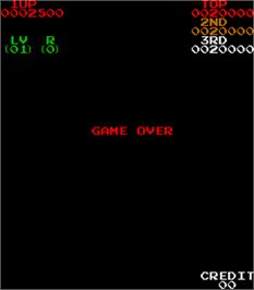 Game Over Screen for Springer.