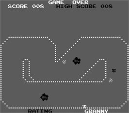 Game Over Screen for Sprint 1.