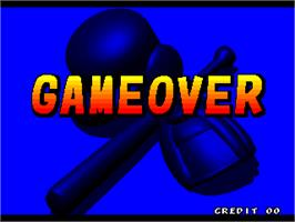 Game Over Screen for Stadium Hero 96.