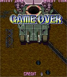 Game Over Screen for Stagger I.