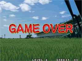 Game Over Screen for Stakes Winner 2.