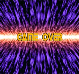 Game Over Screen for Star Gladiator 2.