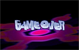 Game Over Screen for Steep Slope Sliders.
