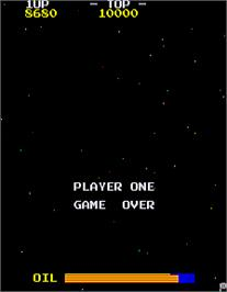 Game Over Screen for Strafe Bomb.
