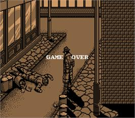 Game Over Screen for Street Fight.