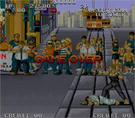 Game Over Screen for Street Smart.